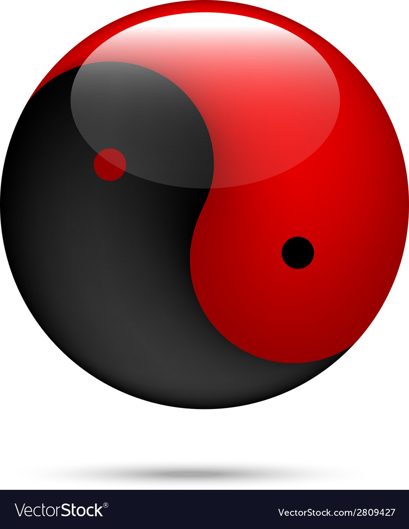 Yinyang vector | Price: 1 Credit (USD $1)
