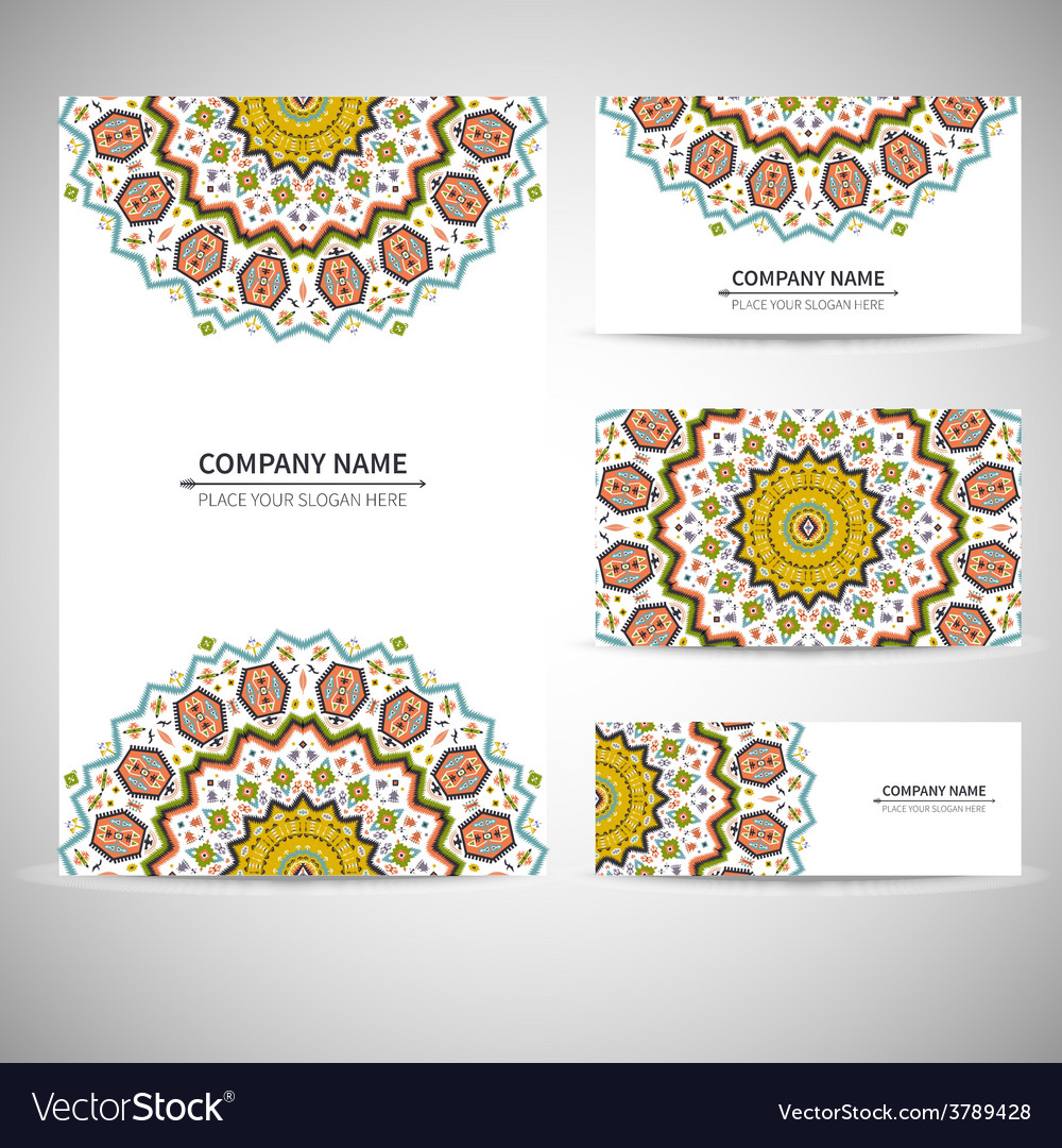 Business card template in vector | Price: 1 Credit (USD $1)
