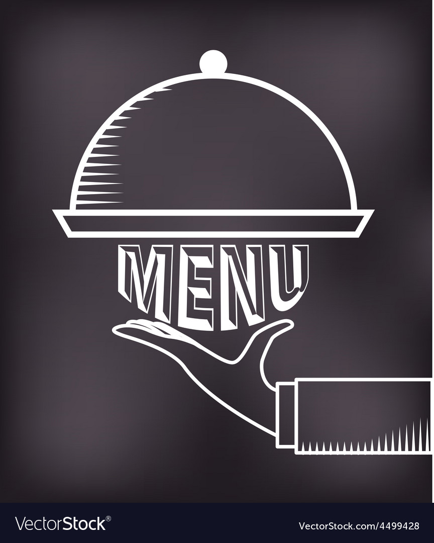 Chalkboard menu vector | Price: 1 Credit (USD $1)