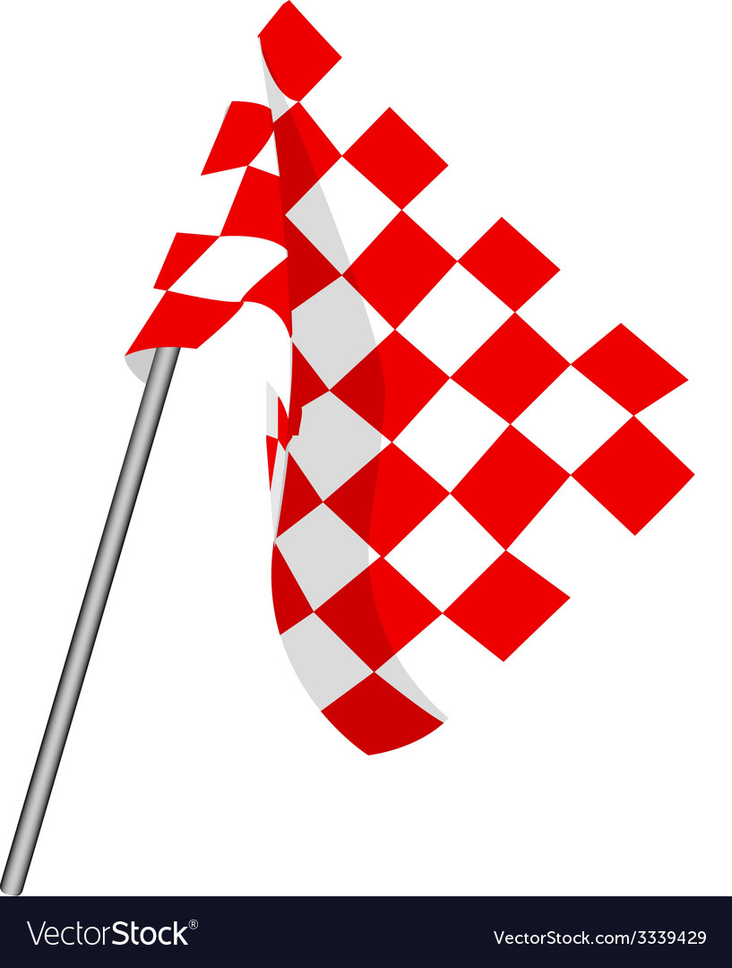 Checkered flag vector | Price: 1 Credit (USD $1)