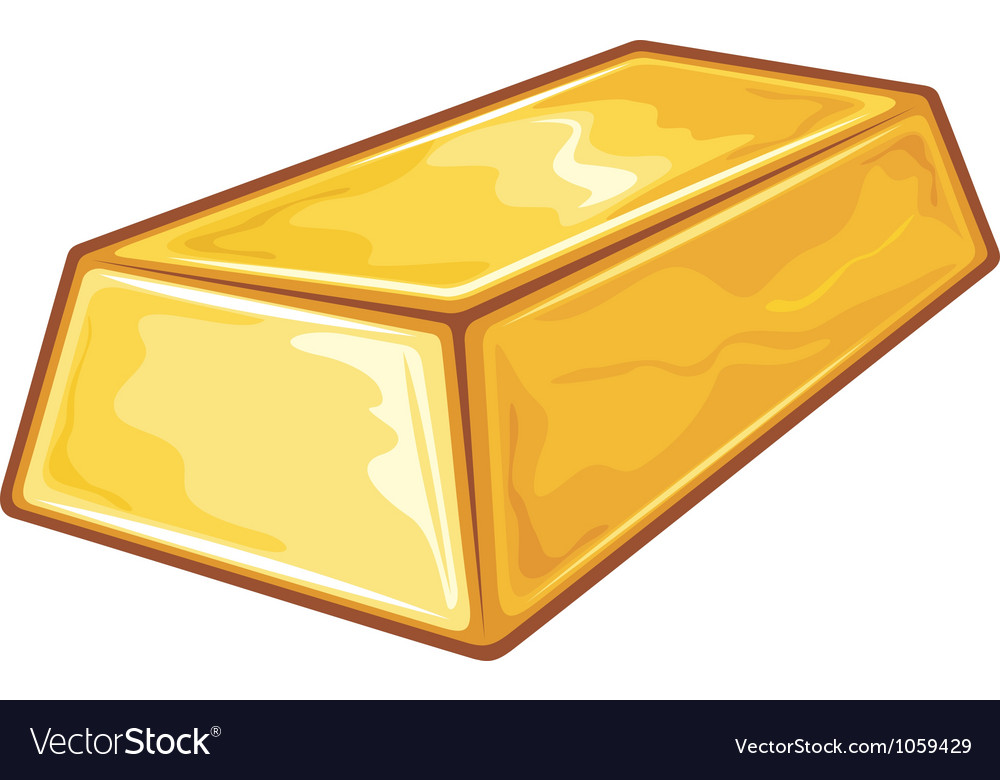 Gold bullion vector | Price: 1 Credit (USD $1)