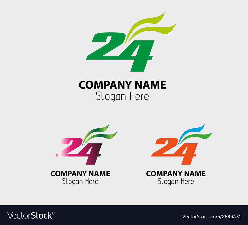 24 h logo hours stock 24 icon symbol vector | Price: 1 Credit (USD $1)