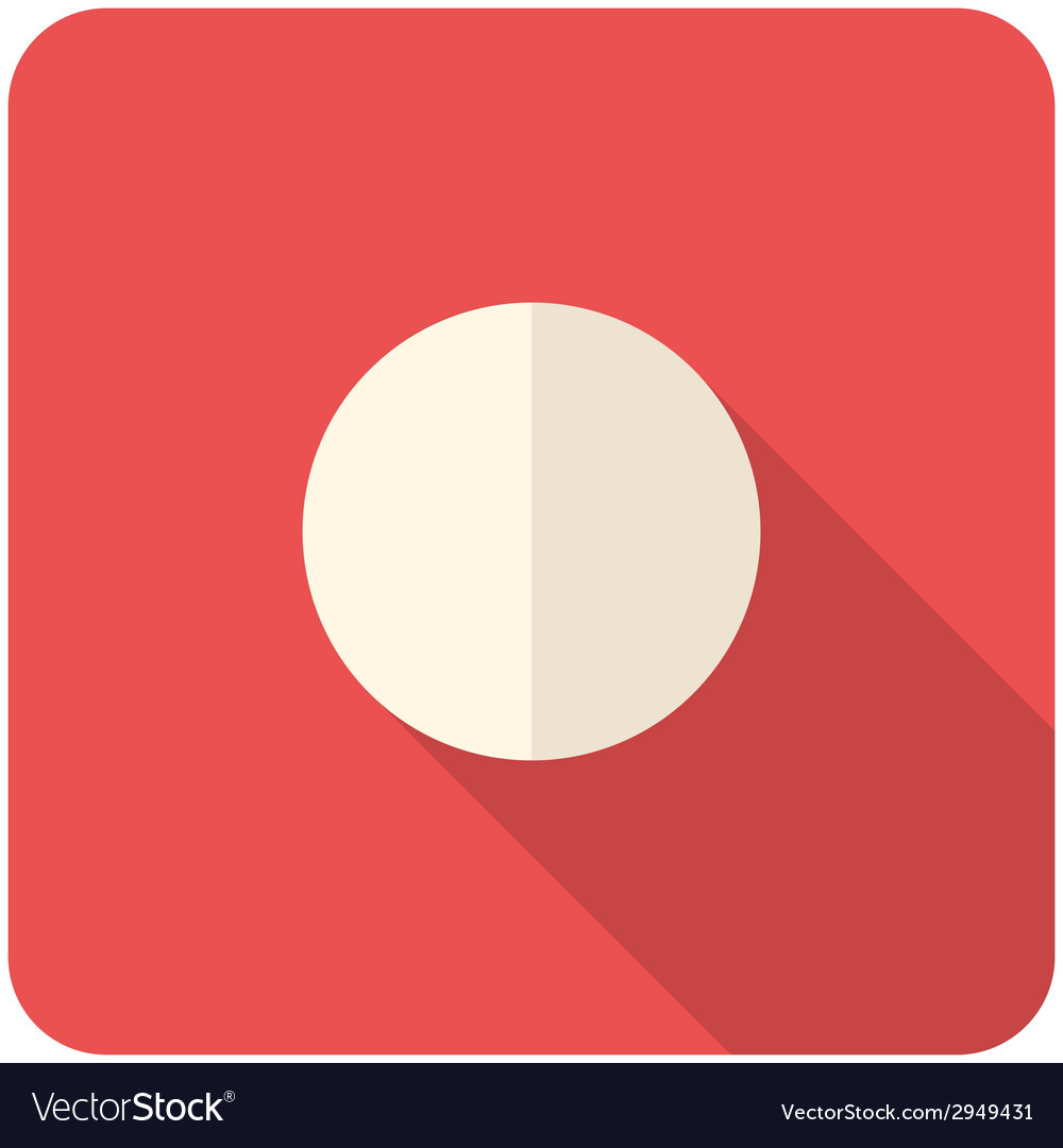 Record icon vector | Price: 1 Credit (USD $1)