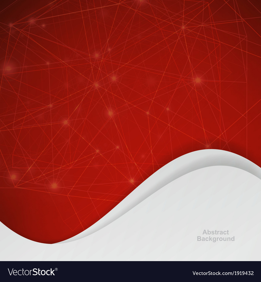 3d red abstract mesh background with circles vector | Price: 1 Credit (USD $1)