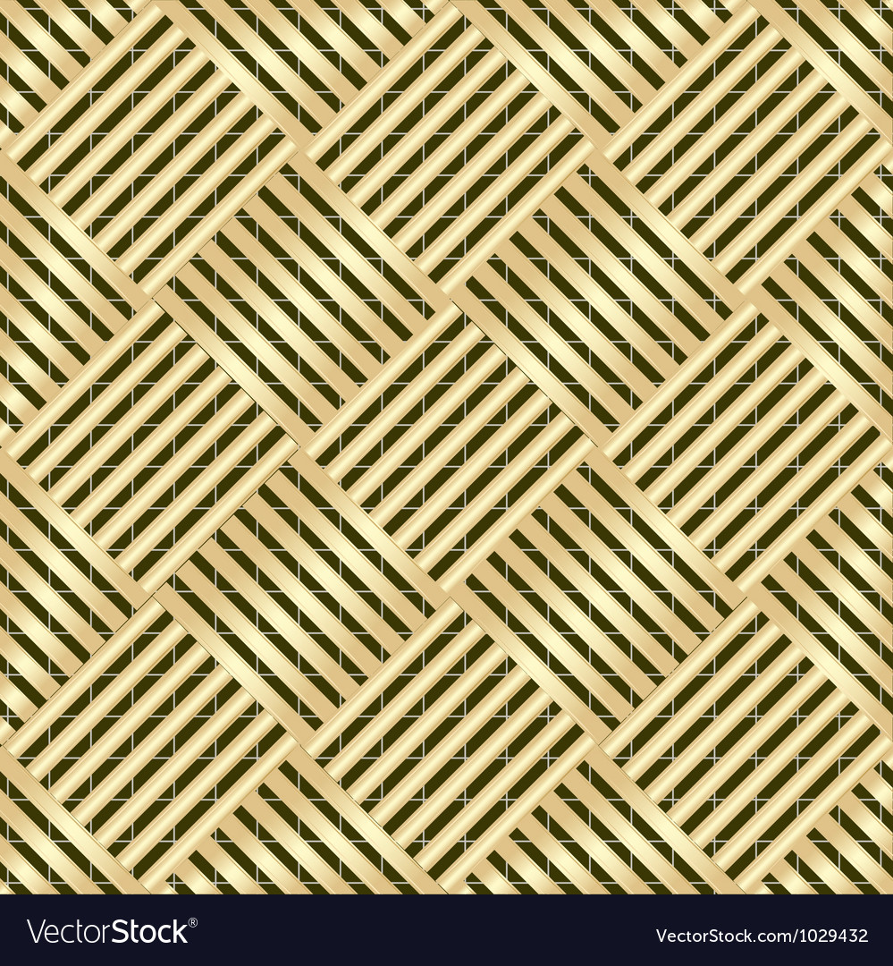 Gold wattled structure vector | Price: 1 Credit (USD $1)