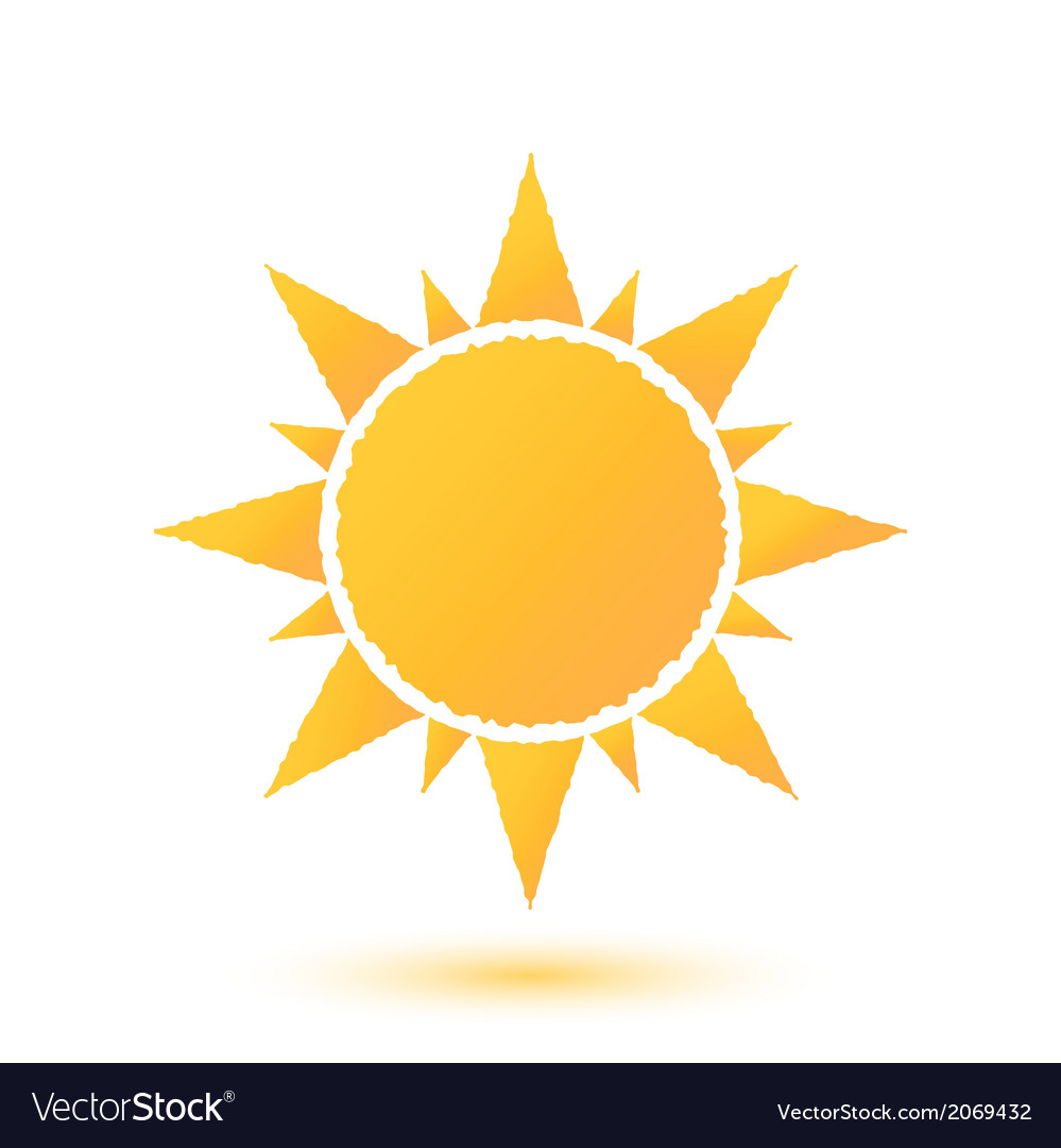Simple of abstract sun vector | Price: 1 Credit (USD $1)