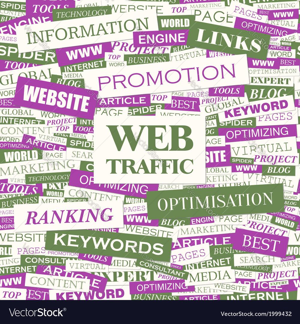Web traffic vector | Price: 1 Credit (USD $1)