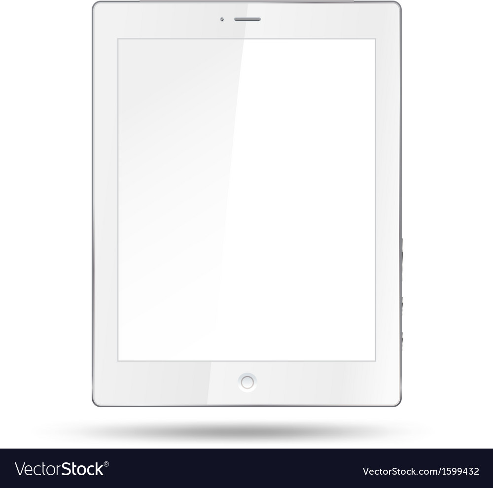 White table vector | Price: 1 Credit (USD $1)