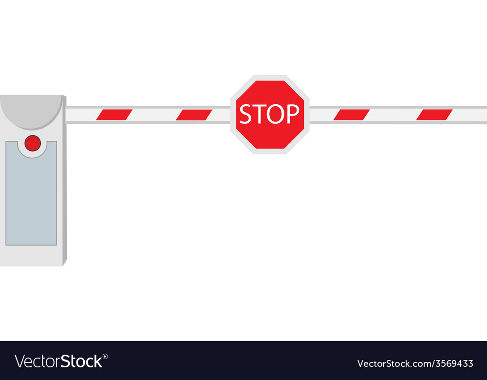 Closed barrier vector | Price: 1 Credit (USD $1)