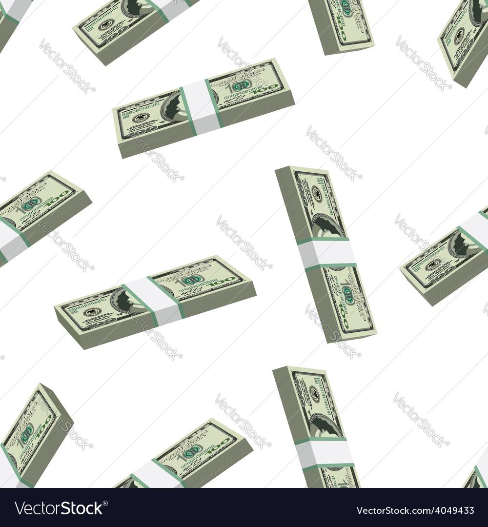 Pattern dollars seamless vector | Price: 1 Credit (USD $1)