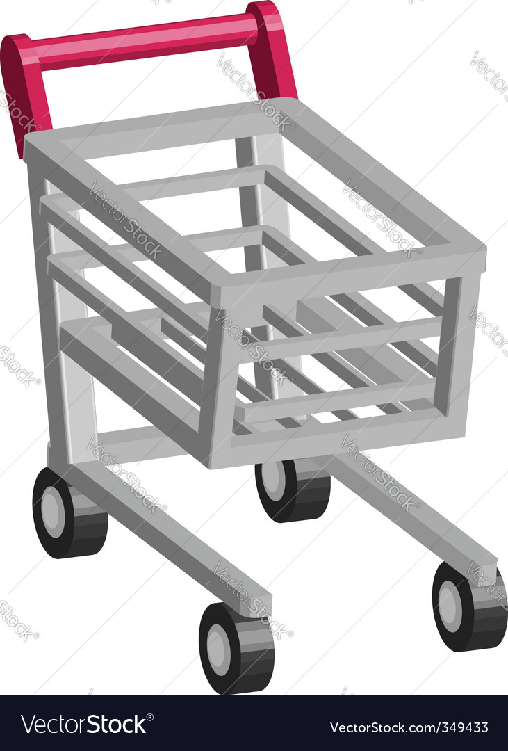 Retail cart vector | Price: 1 Credit (USD $1)