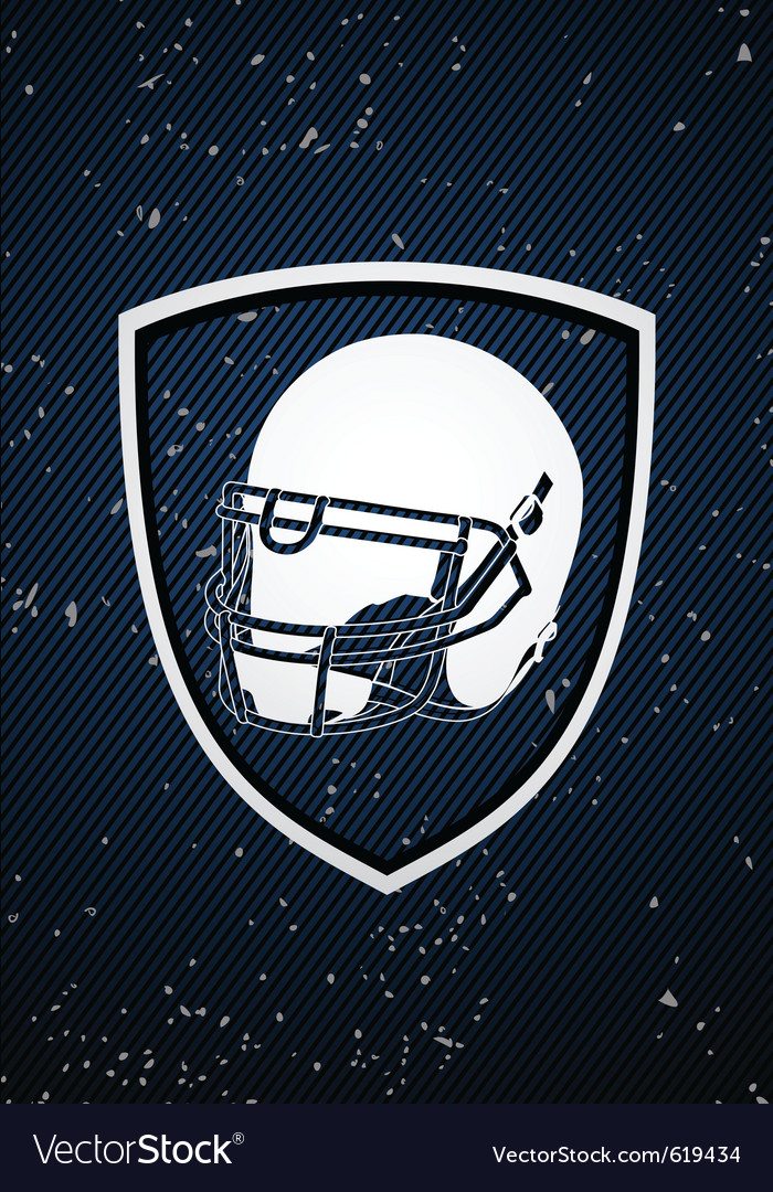 American football badge vector | Price: 1 Credit (USD $1)