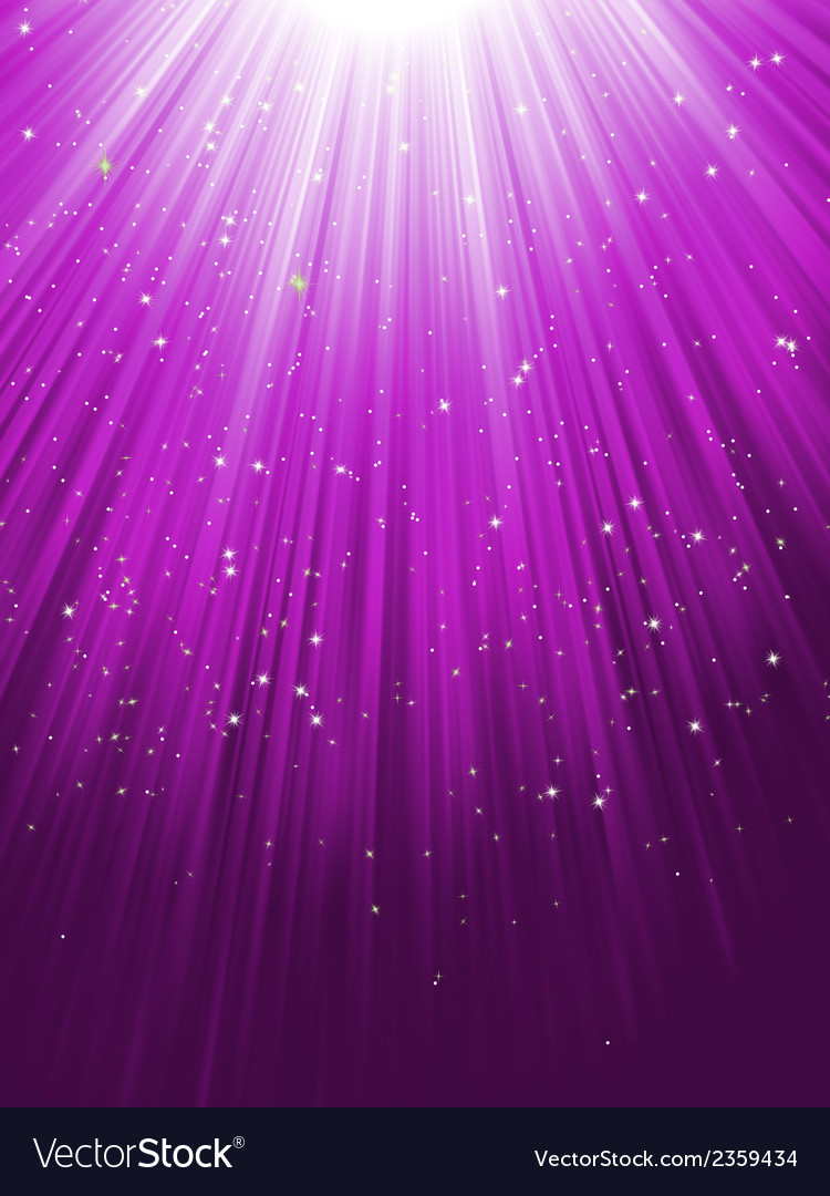 Stars on purple striped background eps 8 vector | Price: 1 Credit (USD $1)