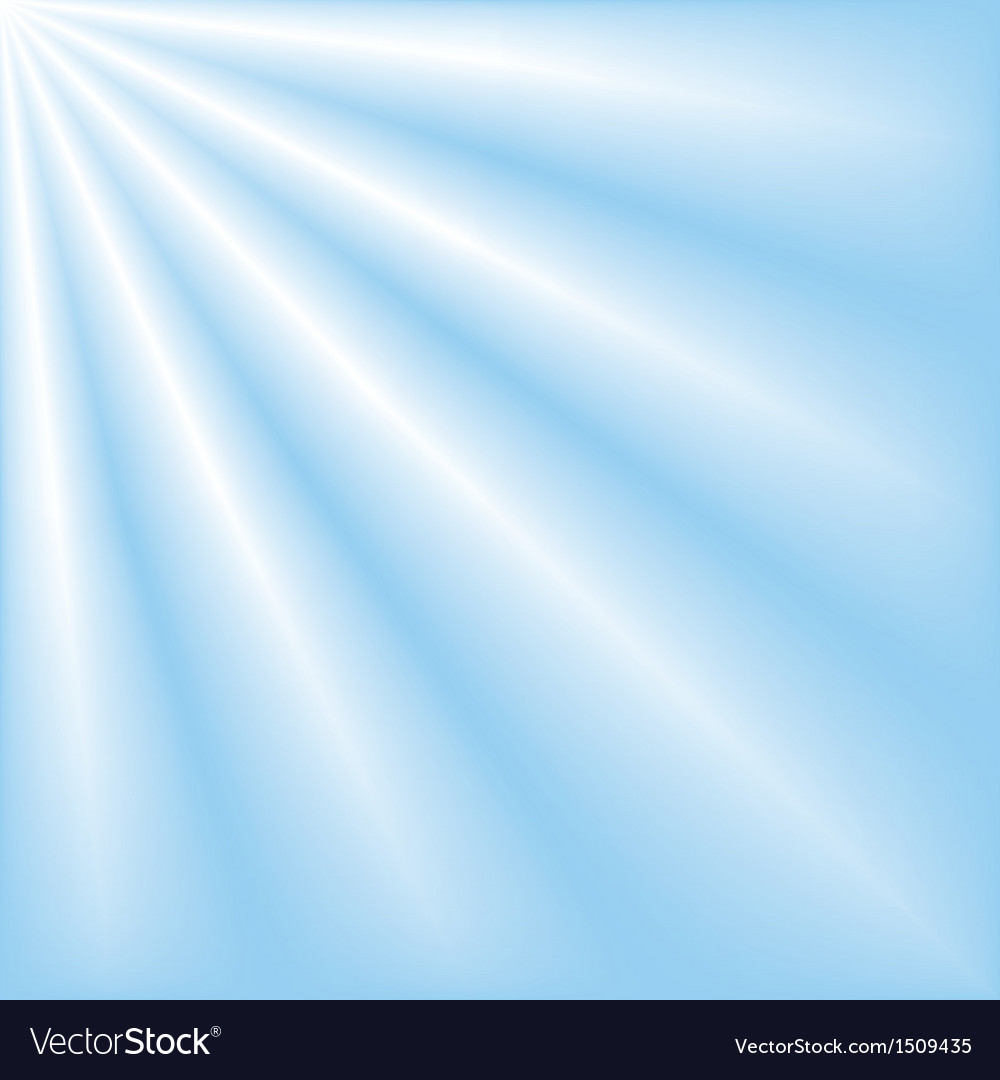 Blue sky with ray of lights vector | Price: 1 Credit (USD $1)