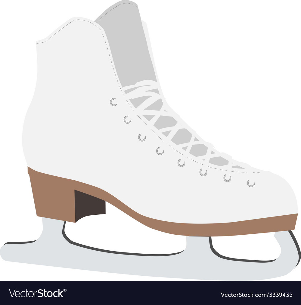 Figure skate vector | Price: 1 Credit (USD $1)