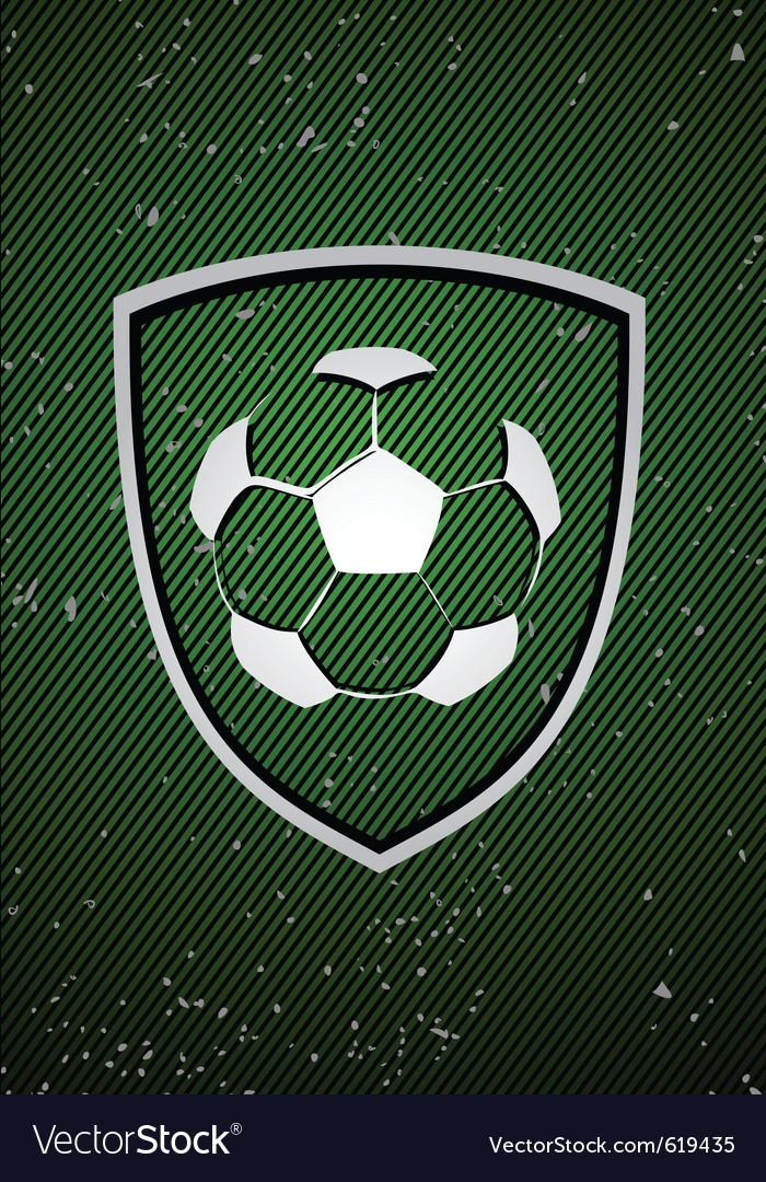 Football badge vector | Price: 1 Credit (USD $1)