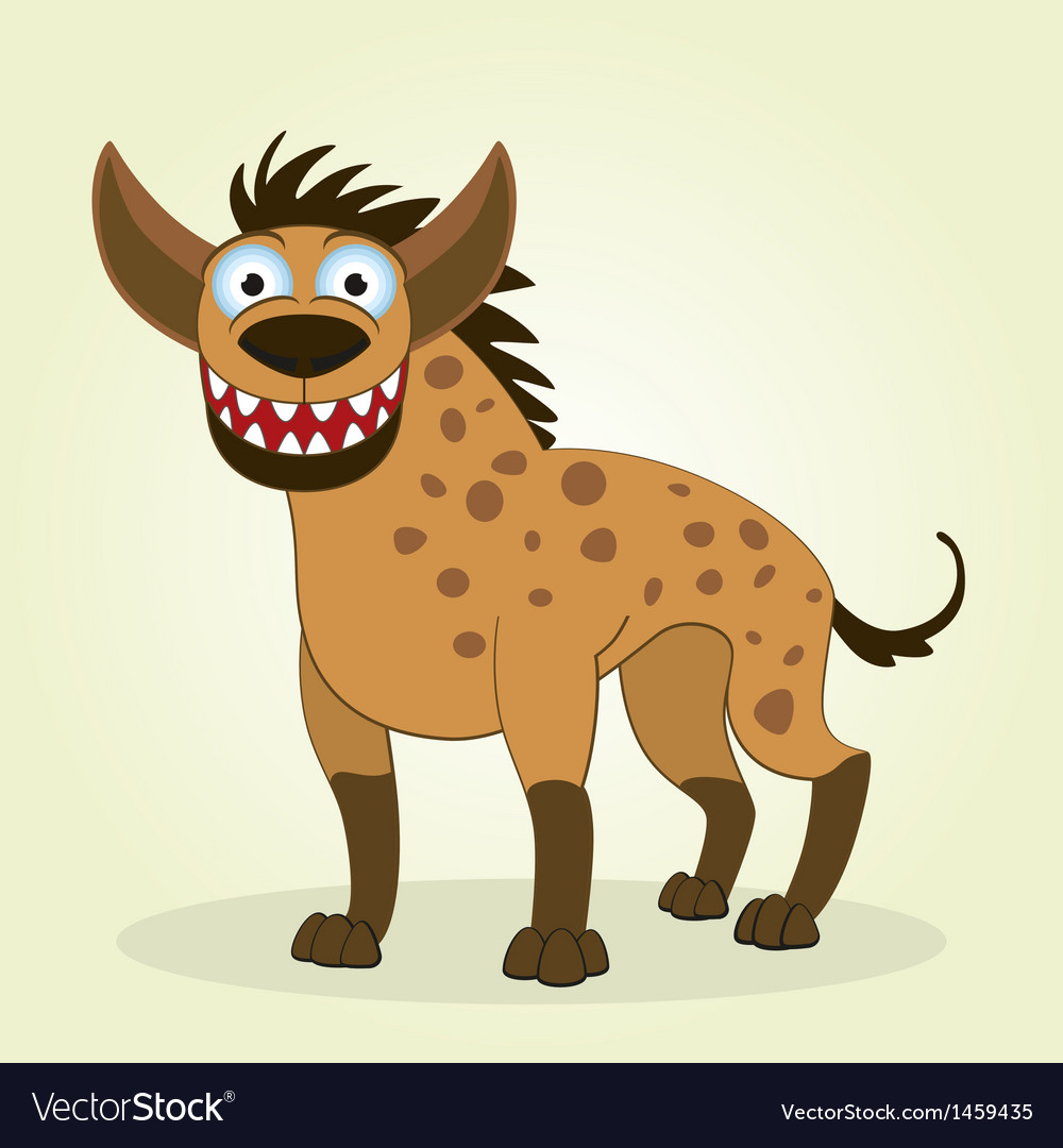 Hyena vector | Price: 1 Credit (USD $1)