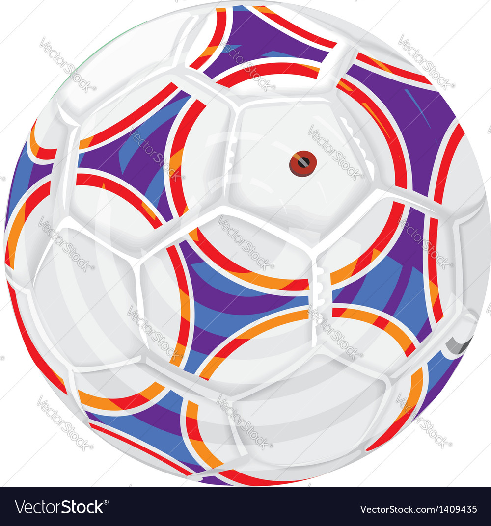 Soccerball vector | Price: 1 Credit (USD $1)