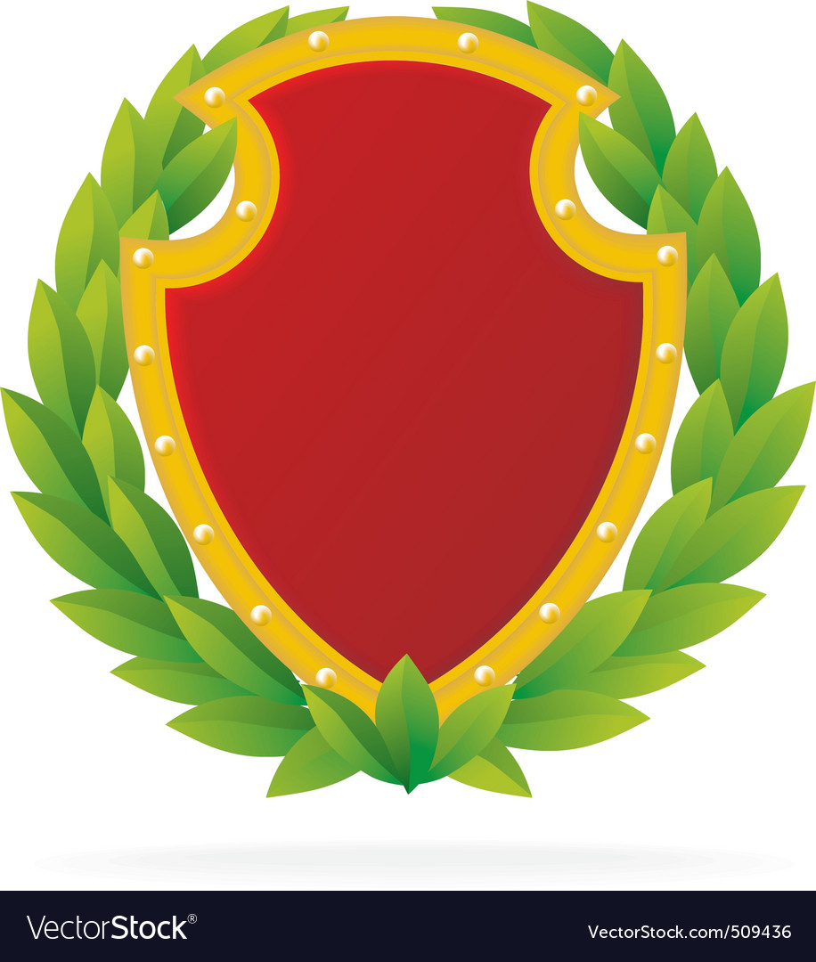 Award as ruby shield vector | Price: 1 Credit (USD $1)