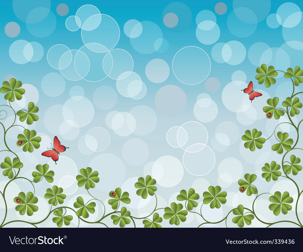 Clover vector | Price: 3 Credit (USD $3)
