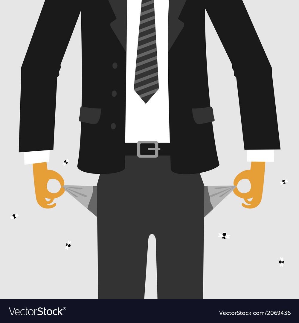 Empty pocket vector | Price: 1 Credit (USD $1)
