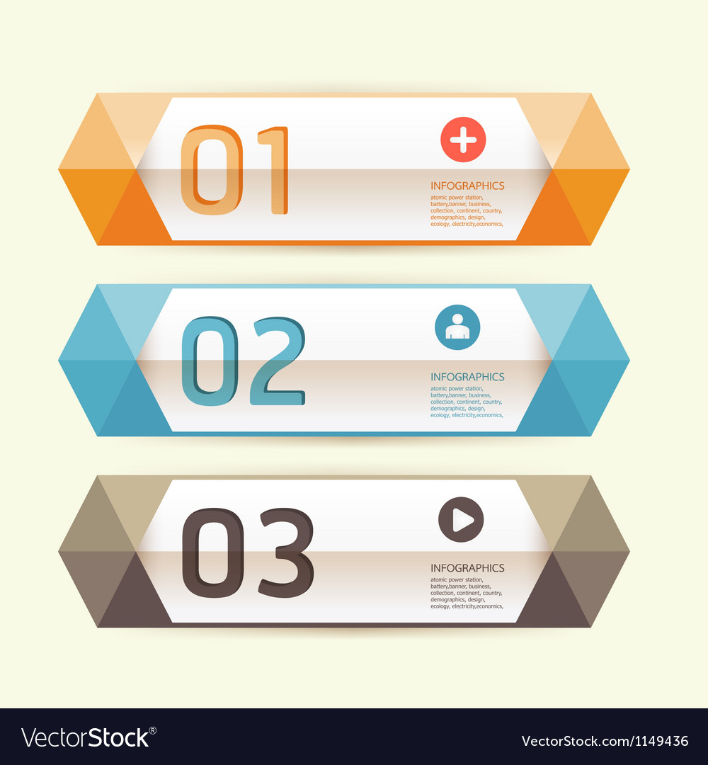 Modern design template can be used for info-graph vector | Price: 1 Credit (USD $1)