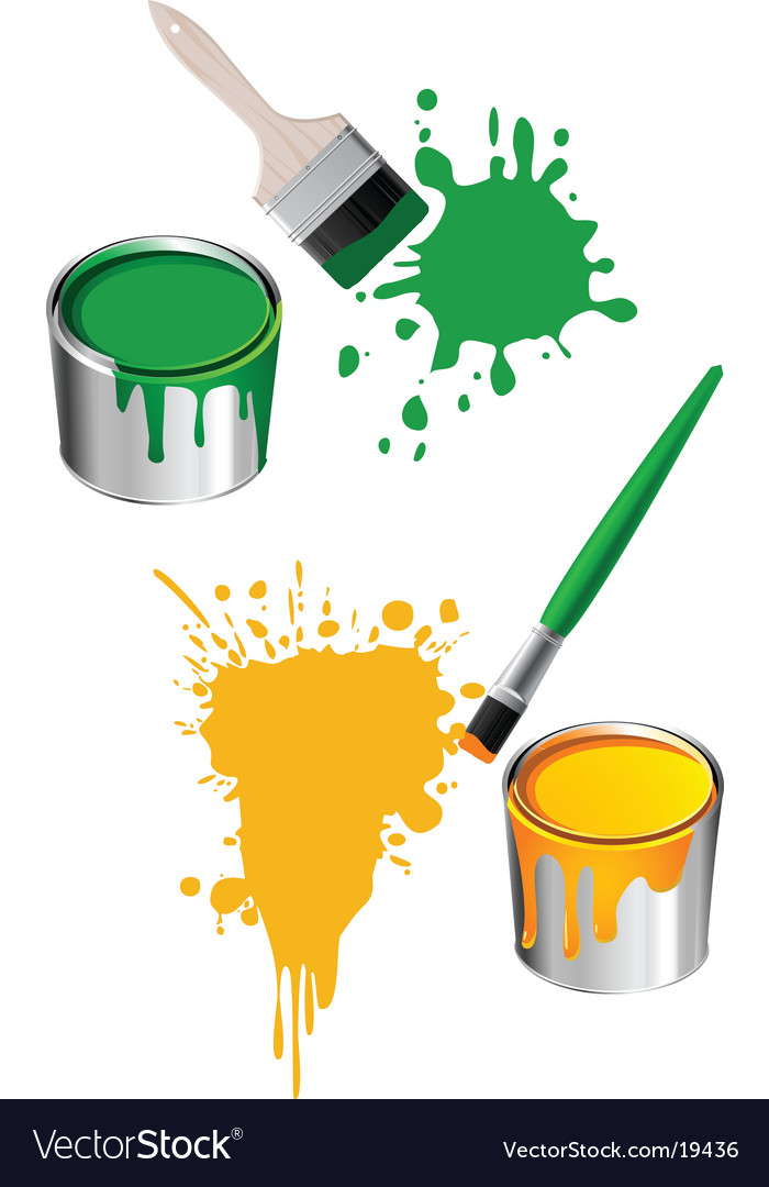 Paint design vector | Price: 1 Credit (USD $1)