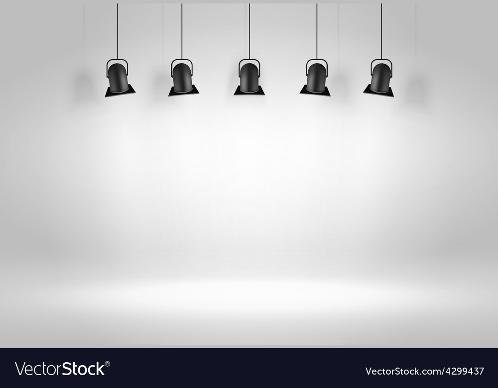 Black ceiling lamps vector | Price: 1 Credit (USD $1)