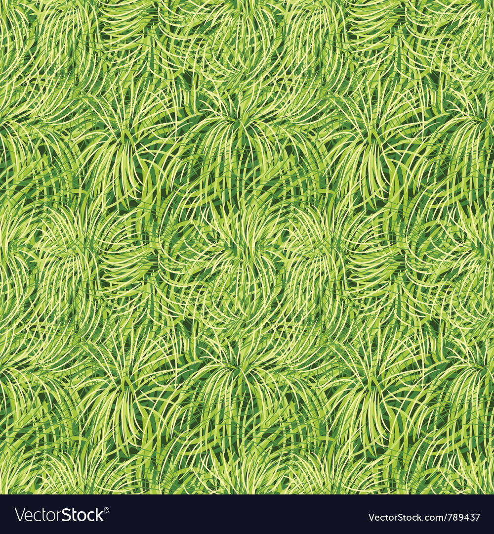 Grass seamless pattern vector | Price: 1 Credit (USD $1)