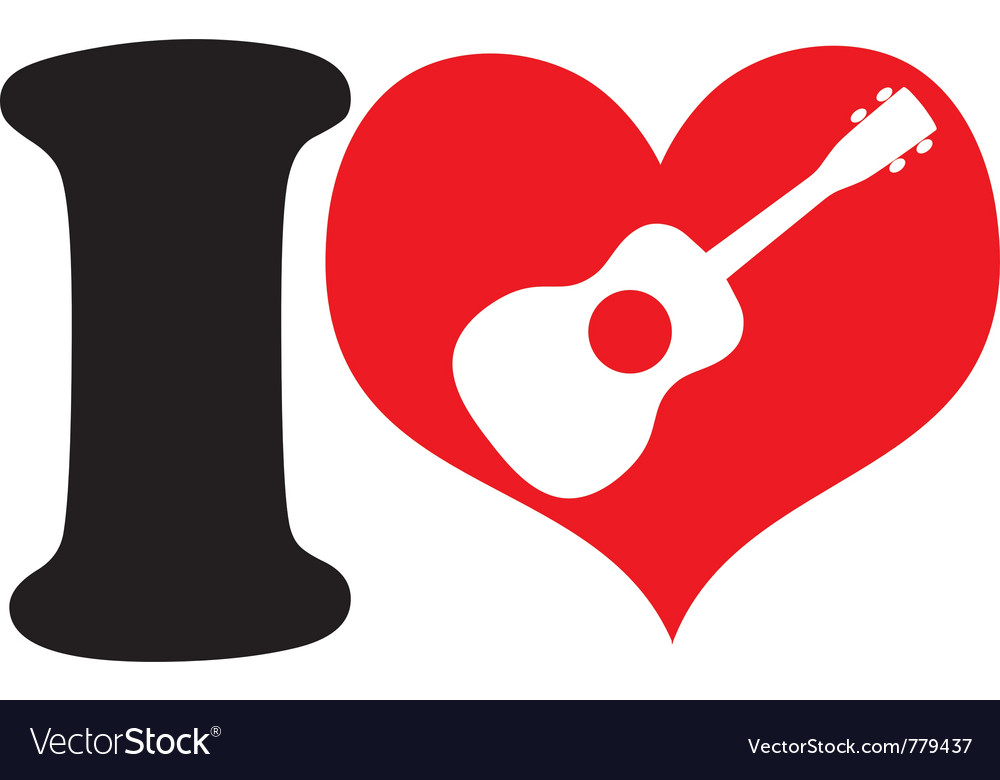I love uke vector | Price: 1 Credit (USD $1)