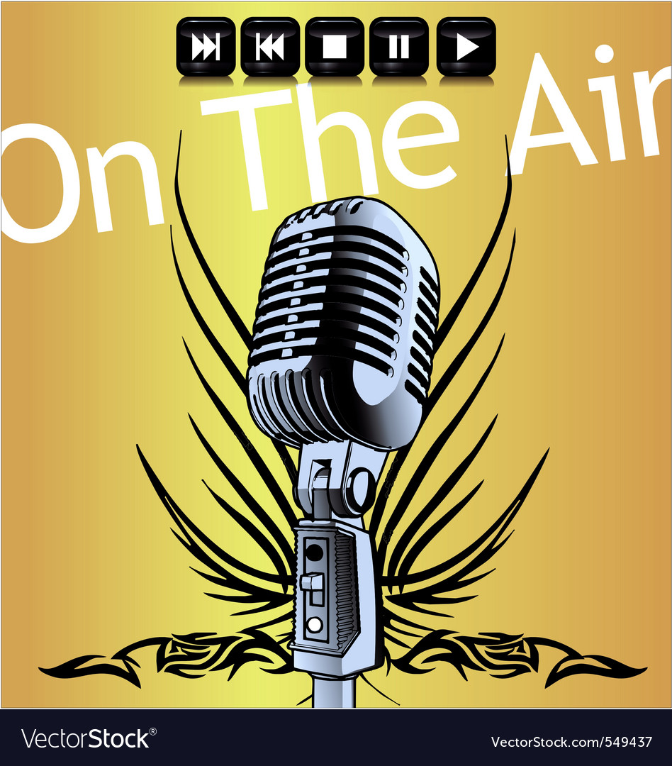 On the air vector   Price: 1 Credit (USD $1)