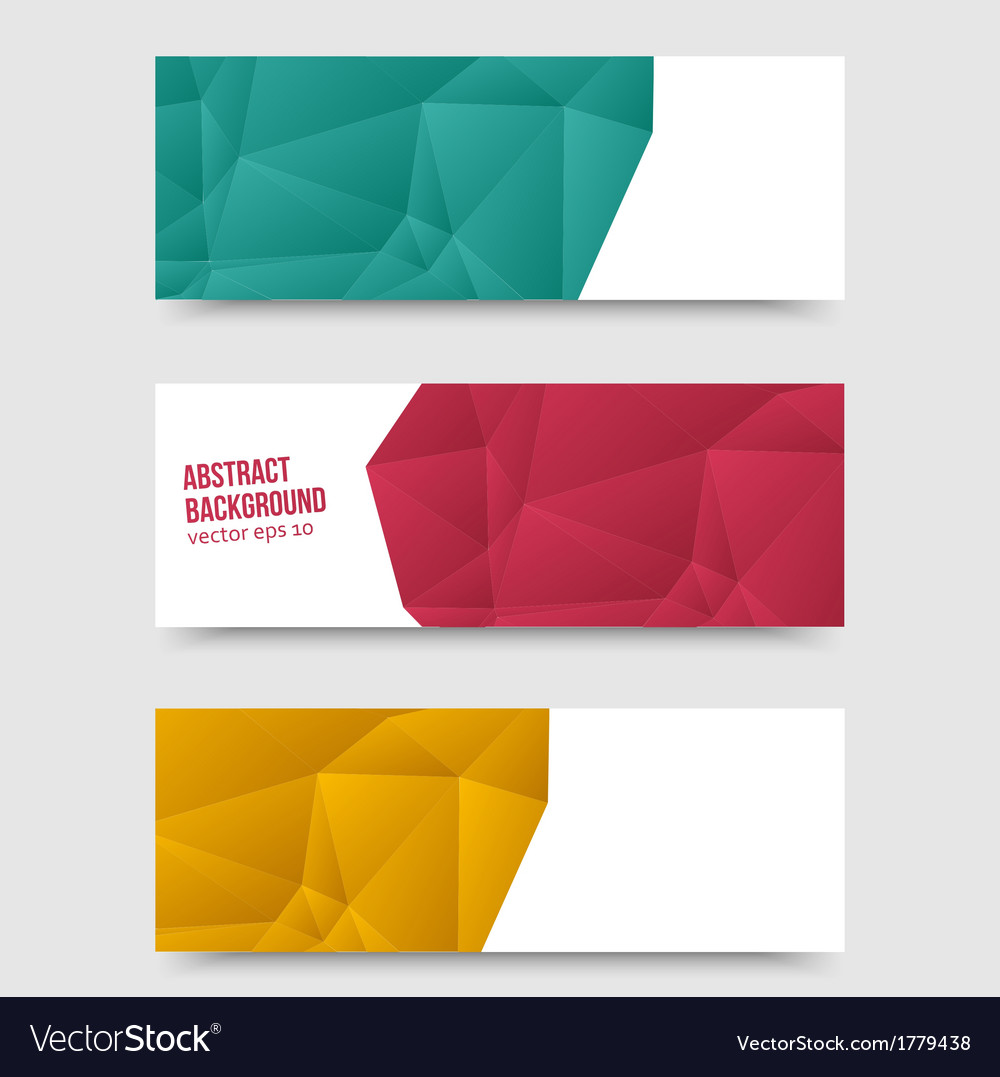 Abstract background origami polygon vector | Price: 1 Credit (USD $1)