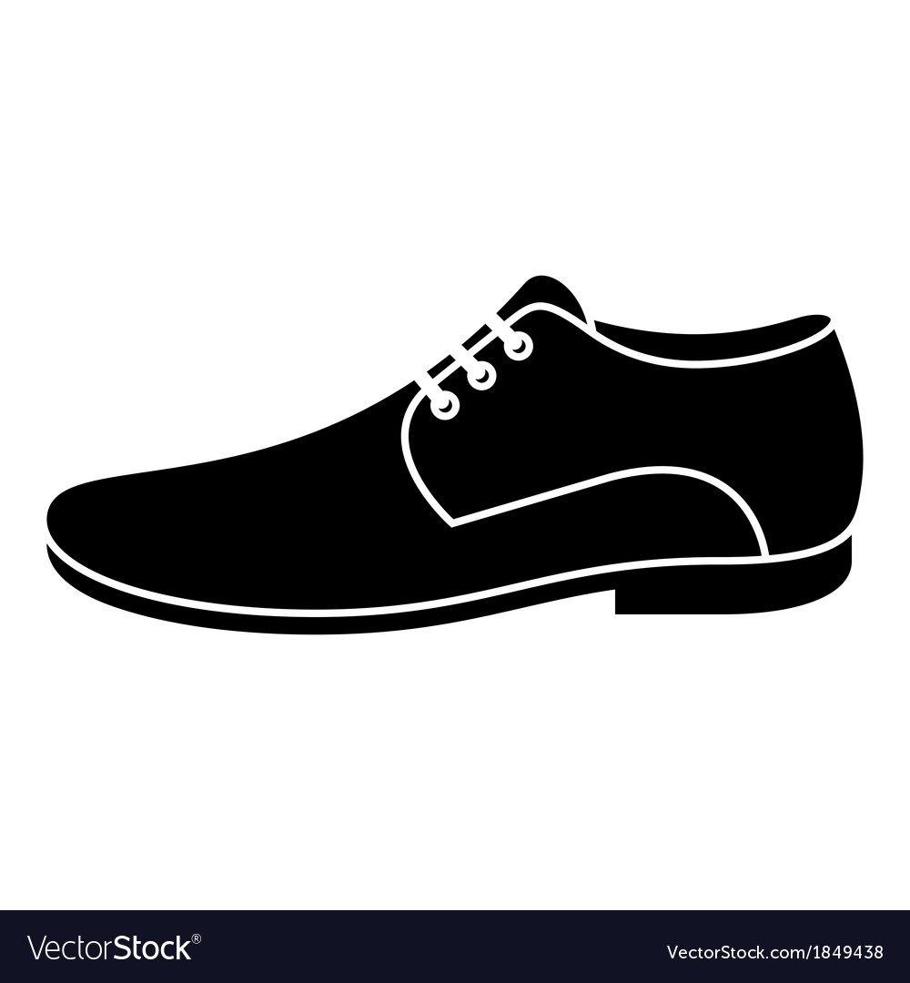 Men shoe vector | Price: 1 Credit (USD $1)