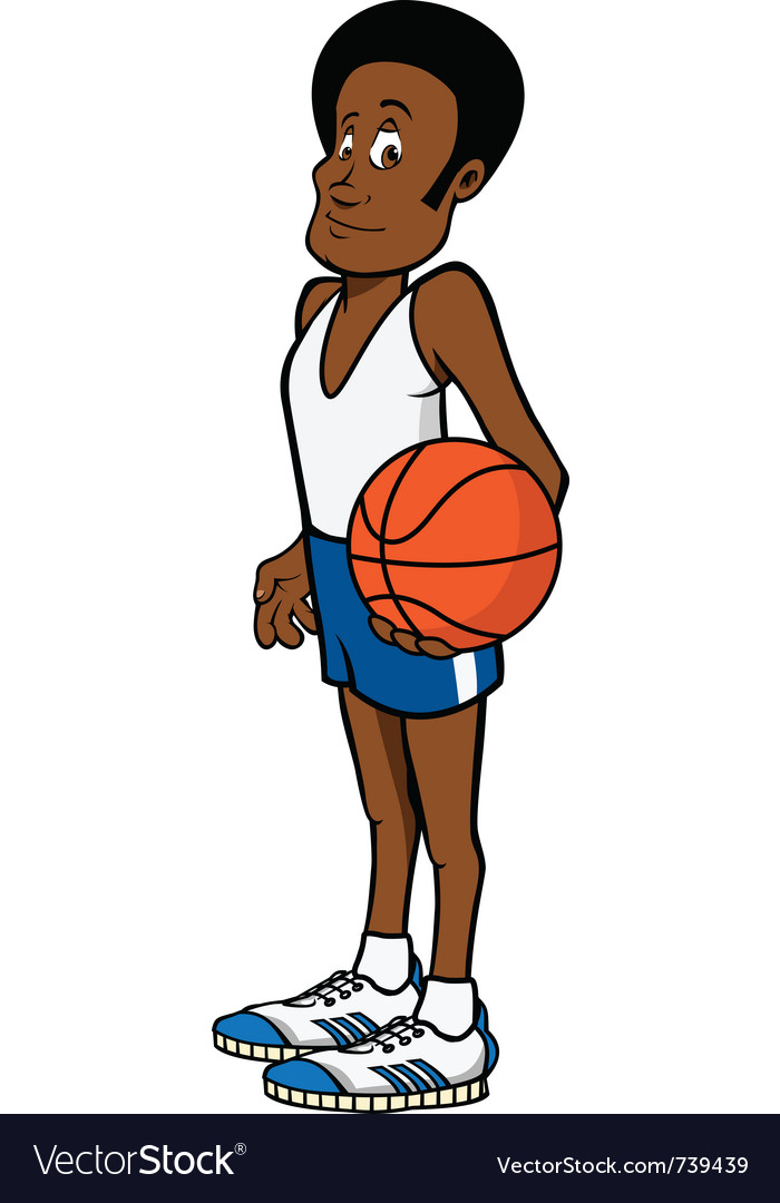 Basketball player vector | Price: 3 Credit (USD $3)