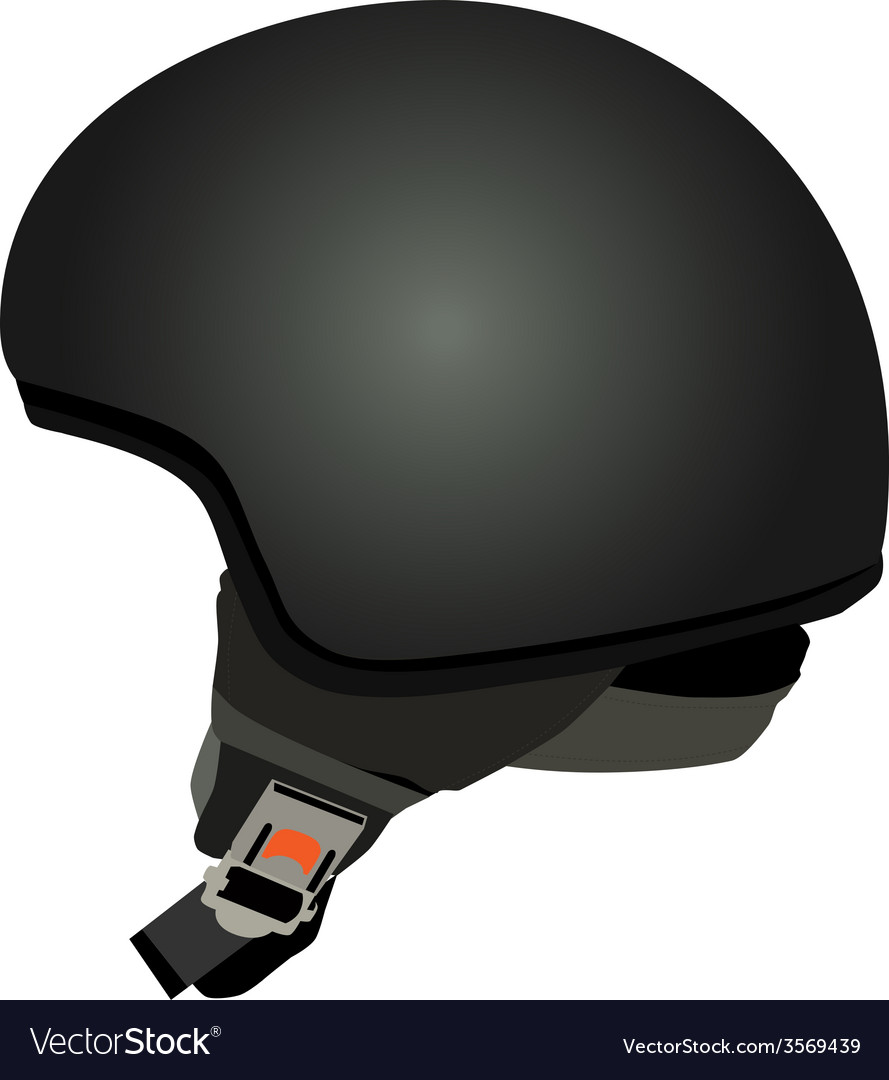 Black police helmet vector | Price: 1 Credit (USD $1)