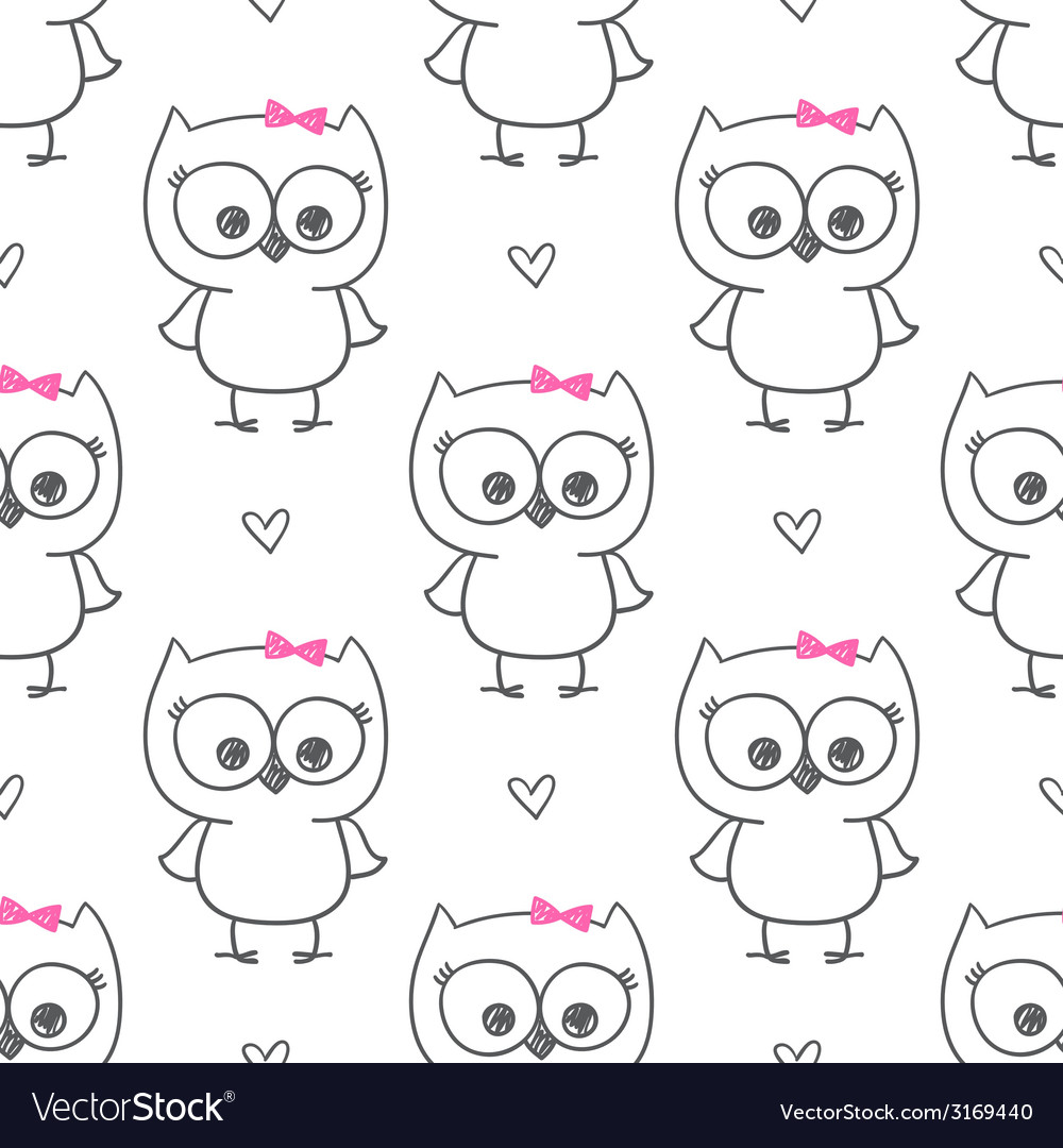 Baby owl vector | Price: 1 Credit (USD $1)