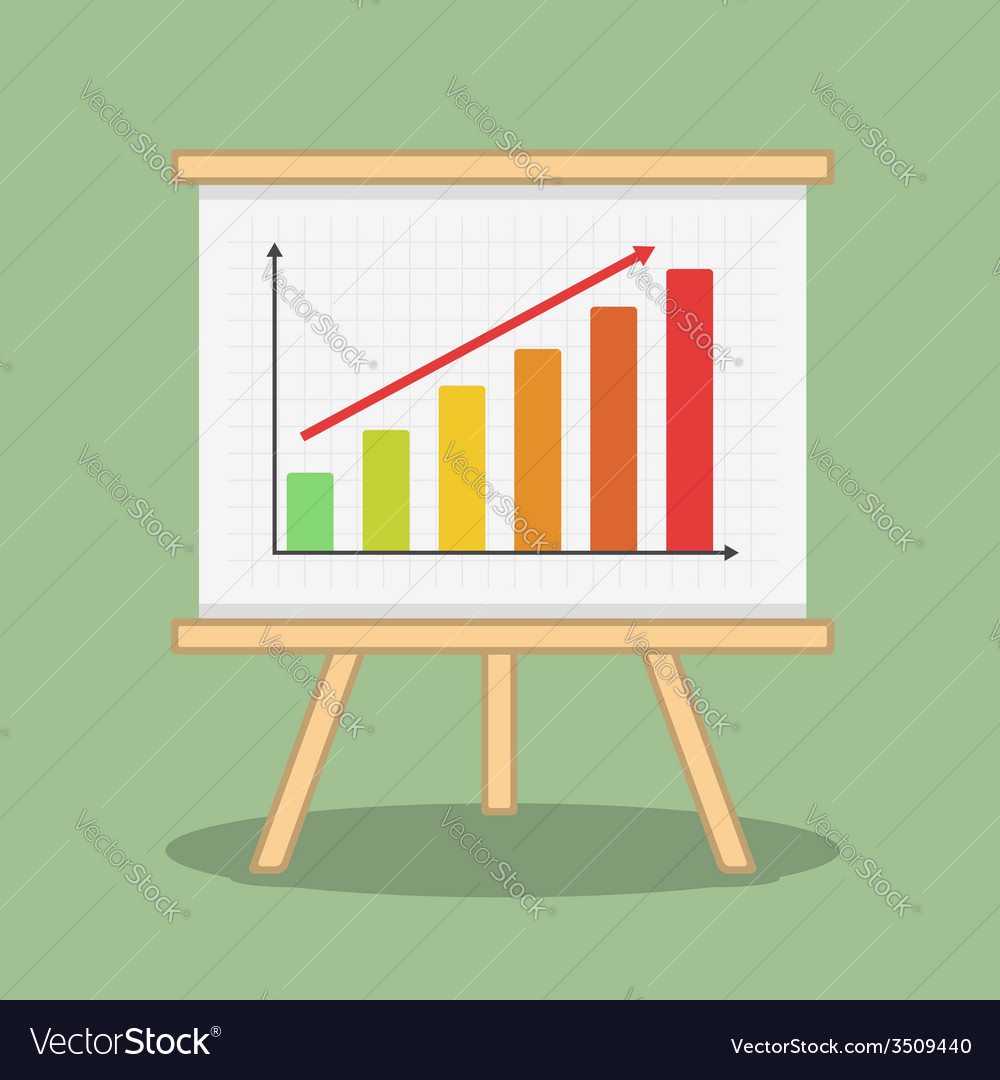 Bar graph vector | Price: 1 Credit (USD $1)