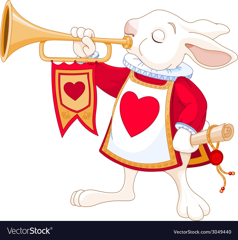 Bunny royal trumpeter vector | Price: 1 Credit (USD $1)