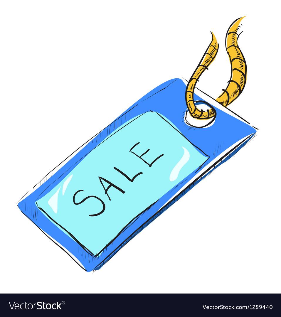 Sale luggage tag icon vector   Price: 1 Credit (USD $1)