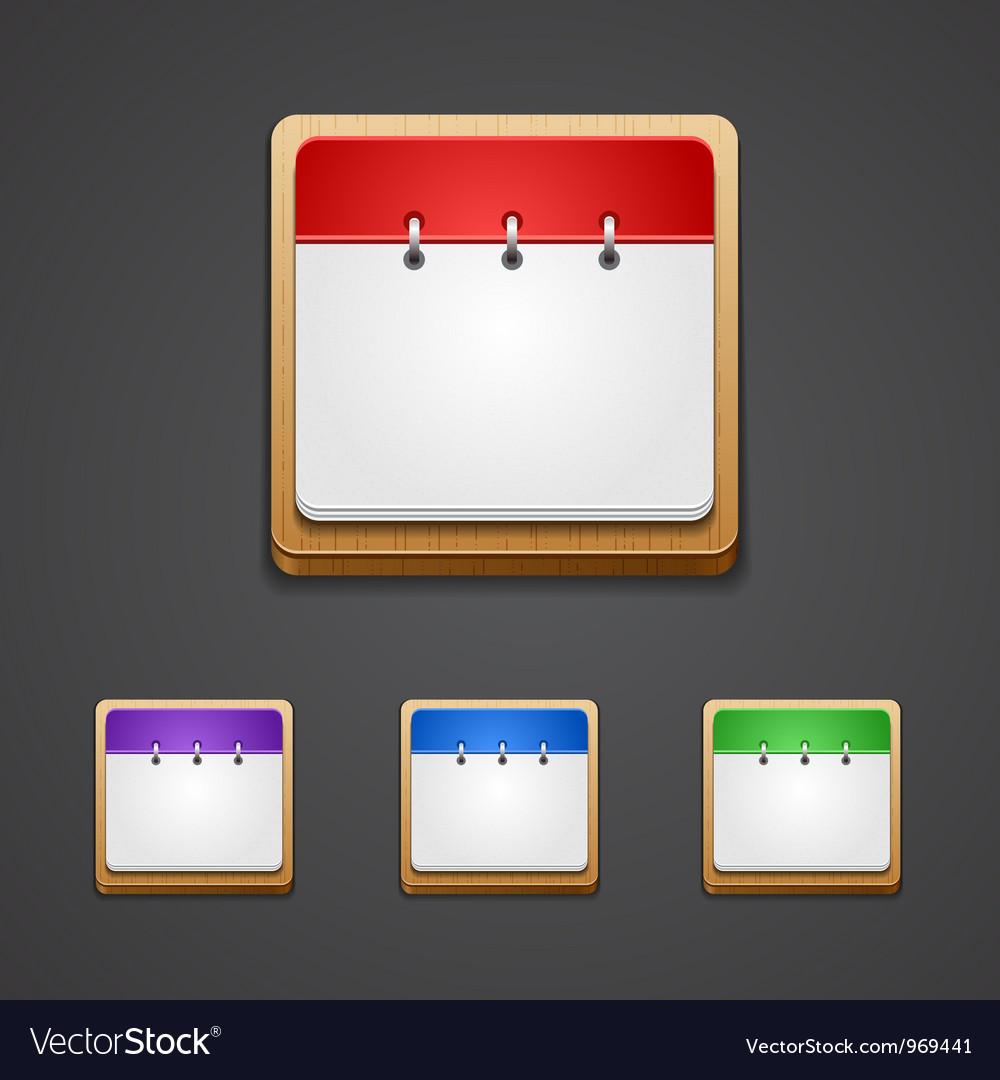 Calendar date icon vector | Price: 1 Credit (USD $1)