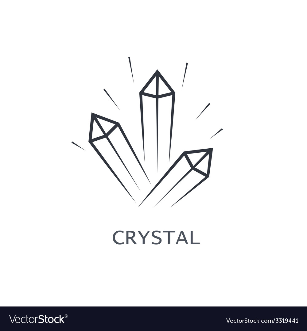Crystal symbol vector | Price: 1 Credit (USD $1)