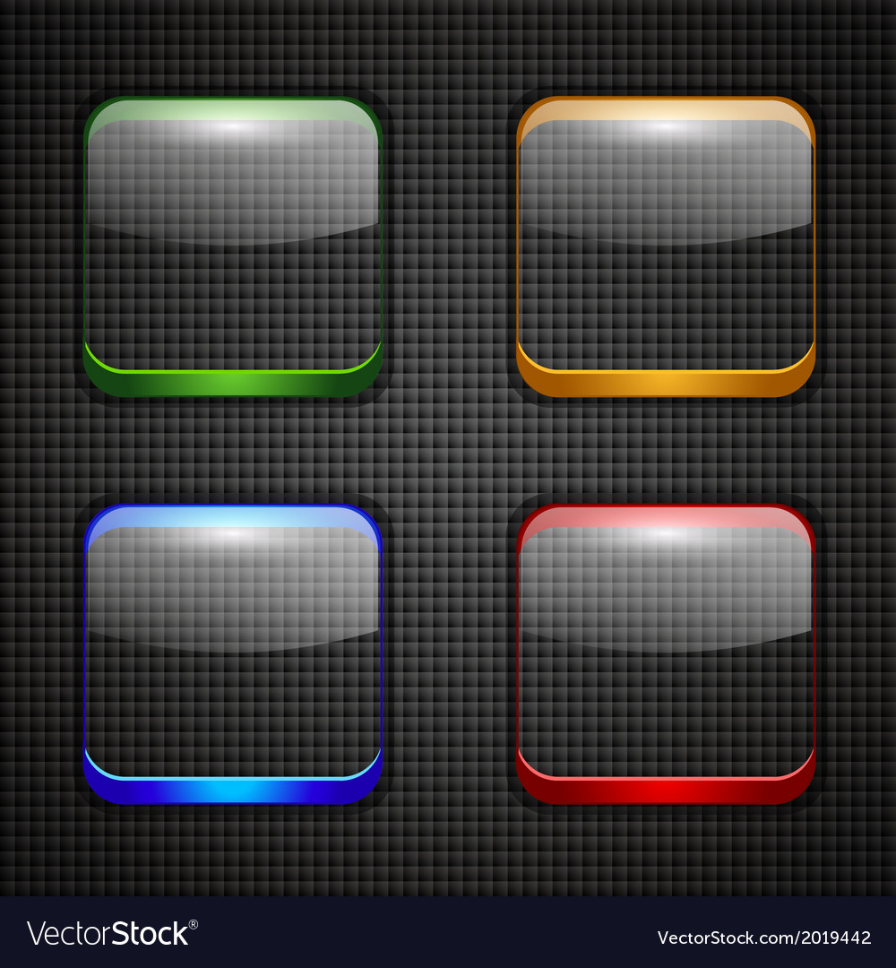App buttons set vector | Price: 1 Credit (USD $1)