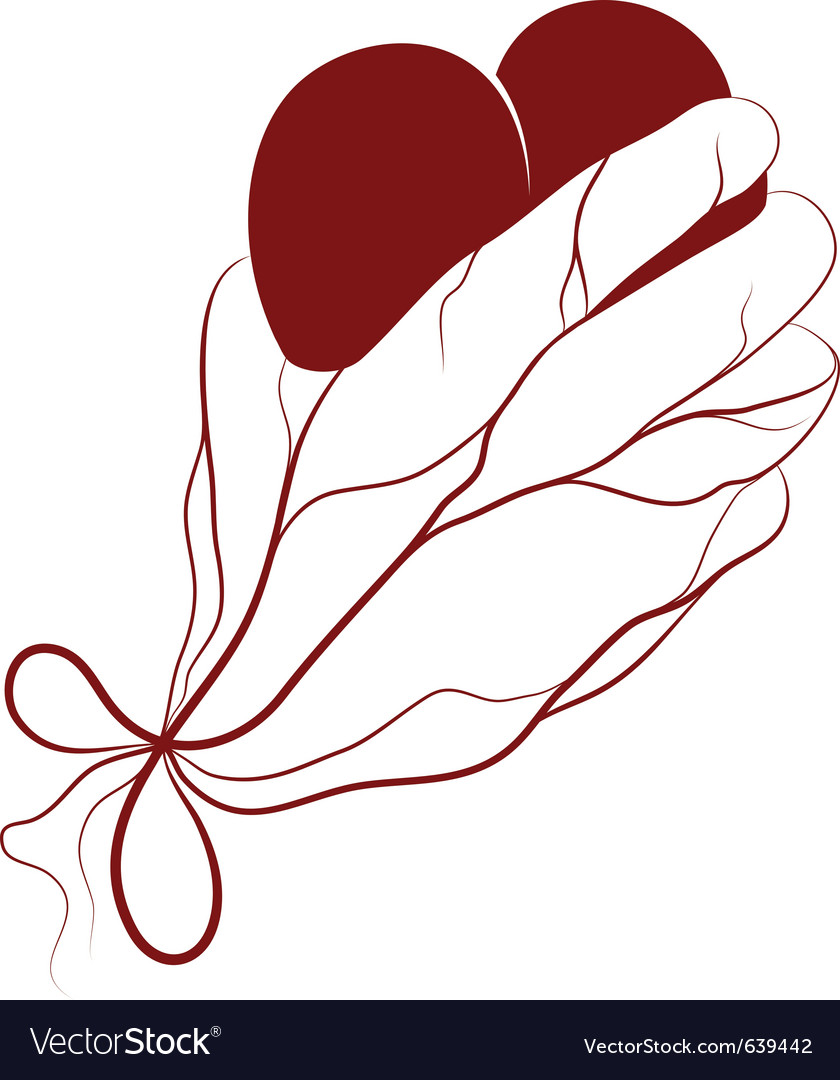Heart present in a hand vector | Price: 3 Credit (USD $3)