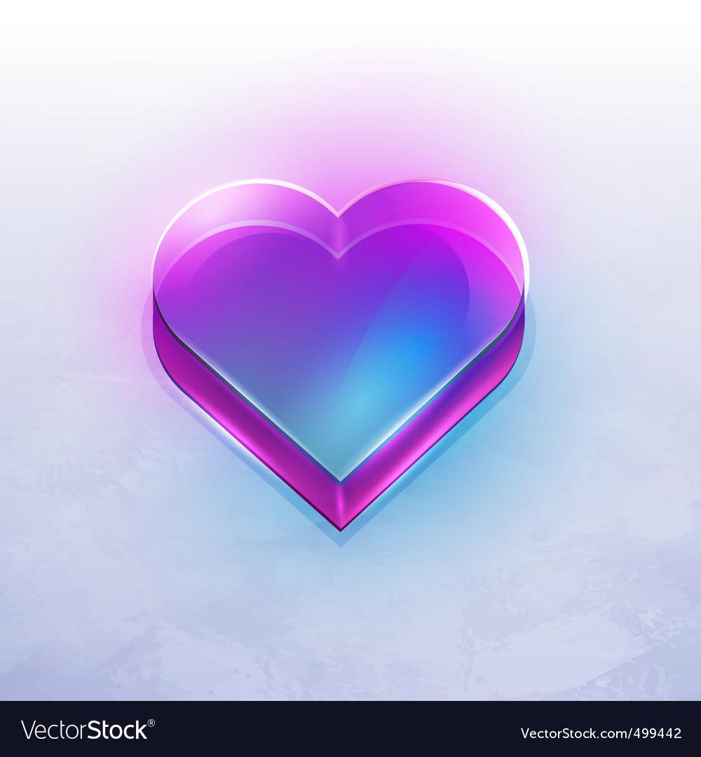 Neon heart vector | Price: 3 Credit (USD $3)