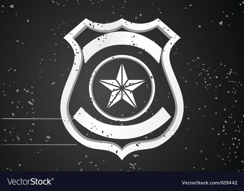 Security badge vector | Price: 1 Credit (USD $1)