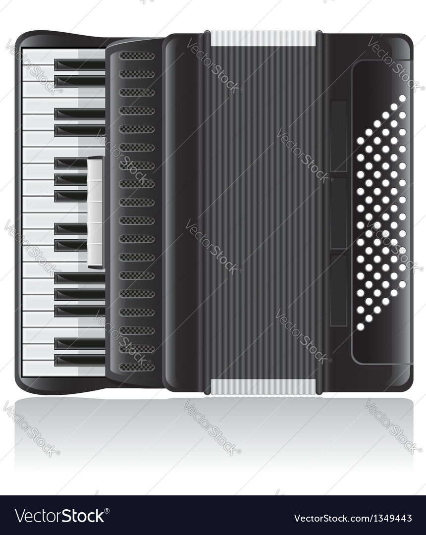 Accordion 01 vector | Price: 3 Credit (USD $3)