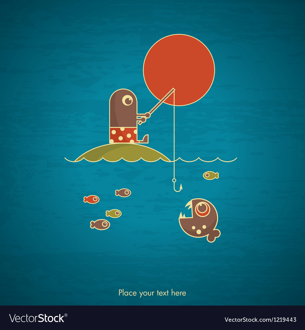 Fishing card vector   Price: 1 Credit (USD $1)