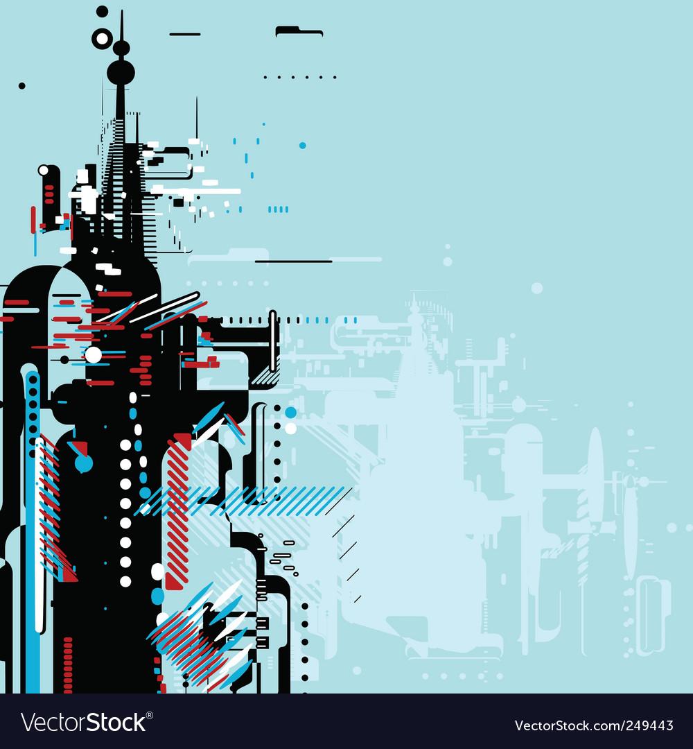 Futuristic background vector | Price: 1 Credit (USD $1)