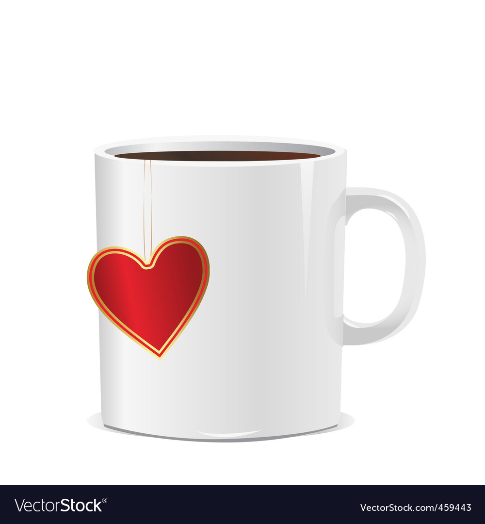 Love mug vector | Price: 1 Credit (USD $1)