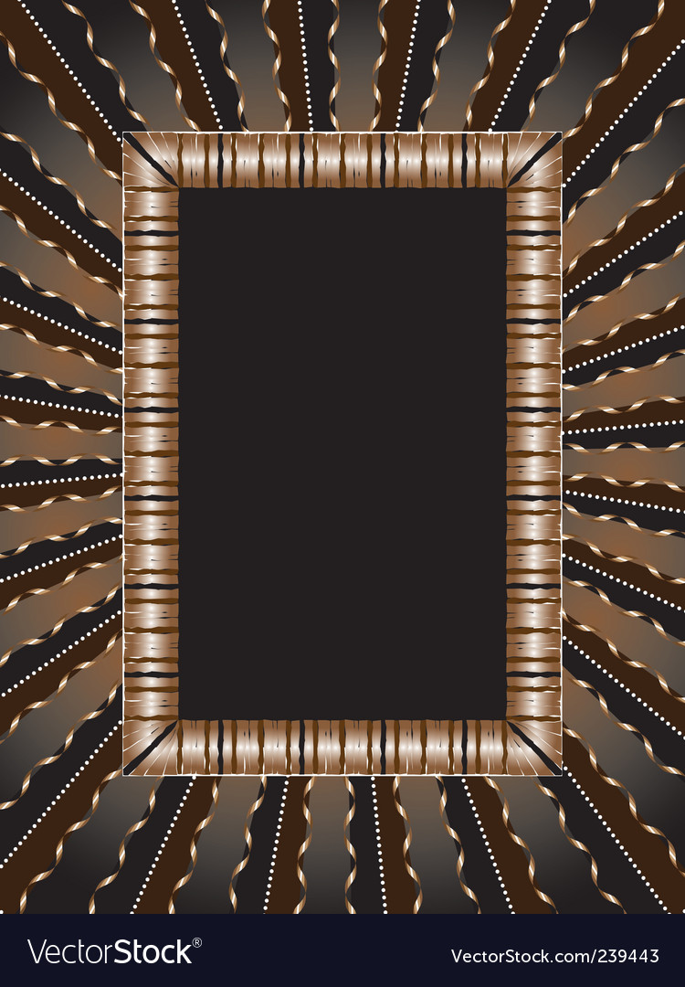 Old-fashioned frame vector | Price: 1 Credit (USD $1)